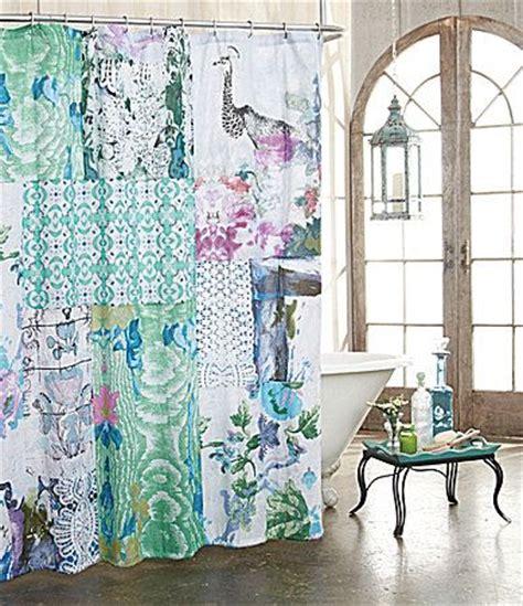 dillards shower curtains poetic wanderlust by tracy porter ardienne shower curtain
