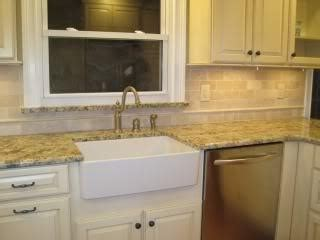 ideas for kitchen tile backsplash with st cecilia granite st cecilia granite with tile backsplash lakehouse
