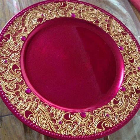 henna design plate mehndi plate by farzana anna totten halliwell boyd