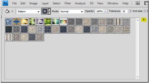 how load pattern in photoshop quicktip how to add patterns to photoshop evolutionary