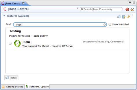 jrebel how to using jrebel with jboss developer studio