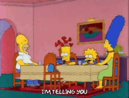 Simpsons Dining Room by Dining Room Gifs Find On Giphy