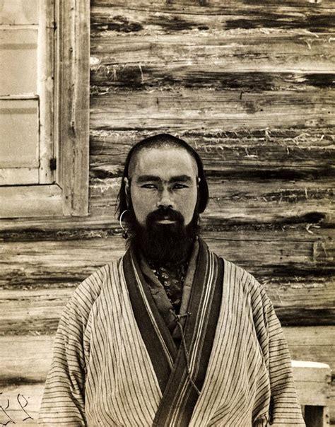 Ainu Japan ainu from sakhalin ca 1900s by bronislaw pilsudski