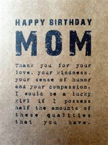 what to write in mothers birthday card rustic birthday card rustic blank card kraft