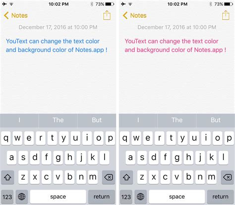 color text youtext lets you colorize the text and background of the