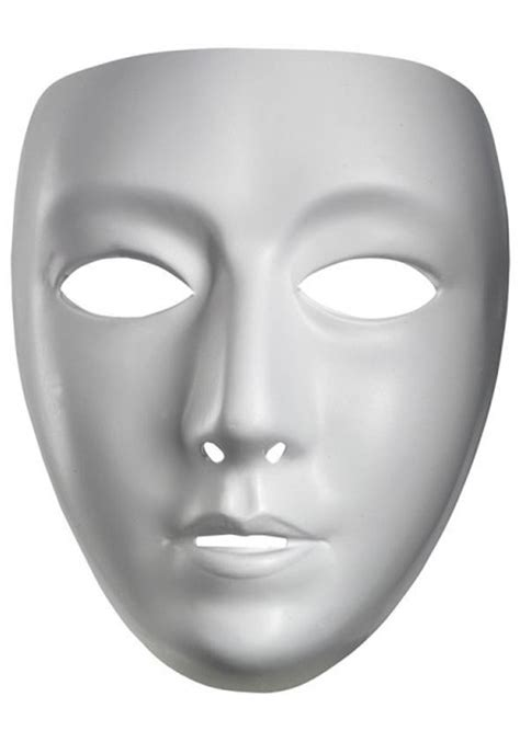 female blank mask blank masquerade masks for halloween