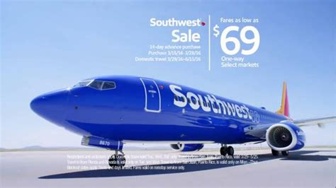 southwest sale southwest airlines southwest sale tv spot team colors