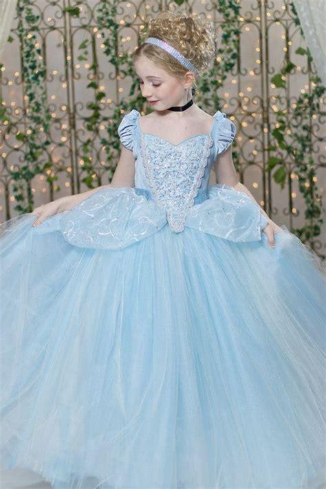 2in1 Flower Tutu Dress Anak cinderella costume classic princess gown tutu dress