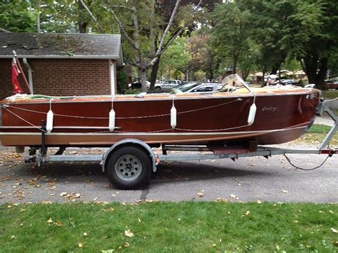 century wooden boats classic wooden century resorter wooden boat for sale 18