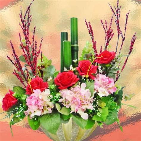 new year flower singapore lunar new year artificial peony flowers delivery