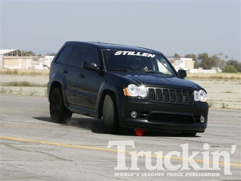 jeep srt 2008 2100 throwdown performance truck shootout 2008 jeep