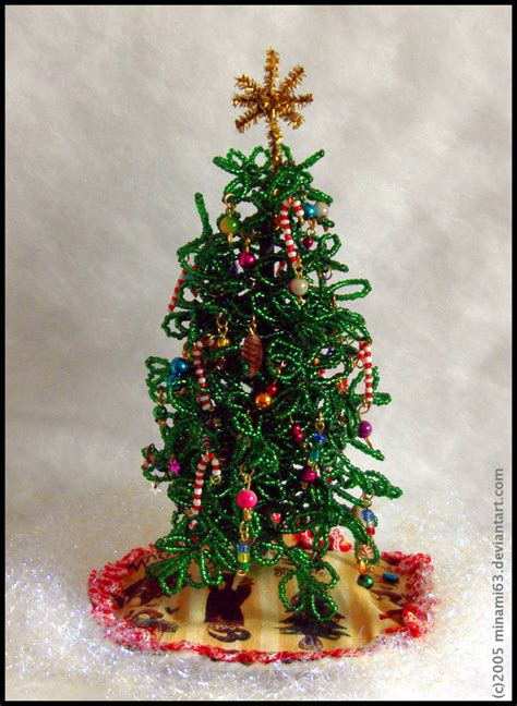 beaded christmas tree by minami63 on deviantart