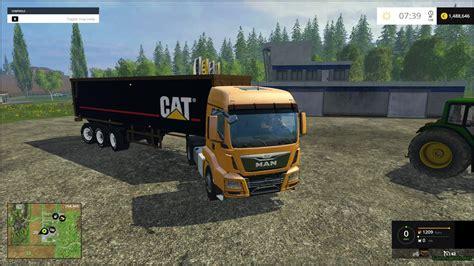 cat trailer trailer cat v1 187 gamesmods net fs17 cnc fs15 ets 2 mods