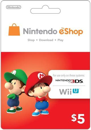 Nintendo Wii Gift Card - free ecash nintendo eshop gift card 5 wii u 3ds digital code video game
