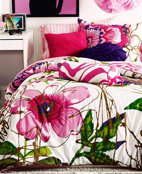 teen vogue comforters teen vogue bedding flora and fauna from macys