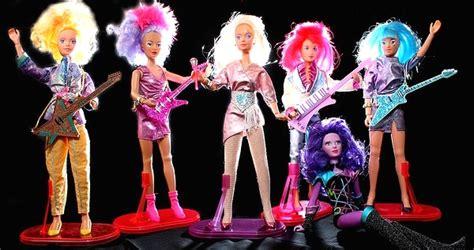 black jem doll jem the truly outrageous platinum 80s rocker who