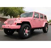 Pink Customized Jeep Wranglers  Image 113