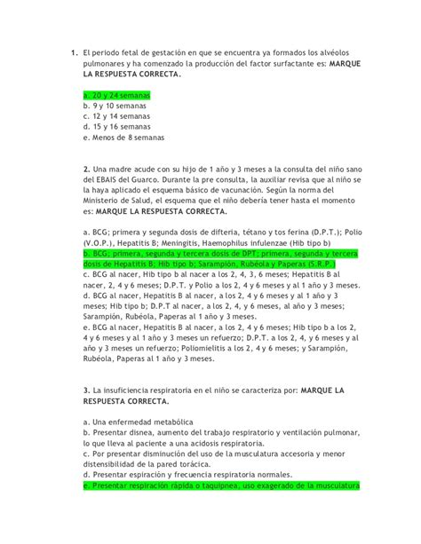 preguntas basicas para una entrevista politica 30788343 banco de preguntas pediatria