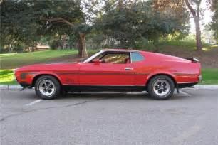 1972 ford mustang mach 1 fastback 137809