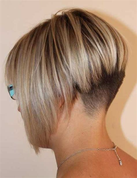 edgy short hair in the back shaved bob hairstyles ideas