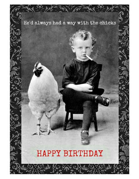 Happy Birthday Husband Meme - he d always had a way with chicks lol funny pinterest