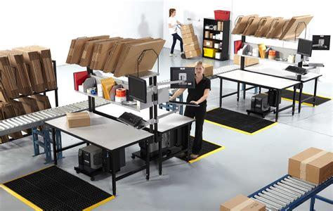 warehouse workstation layout redirack workstations workbenches customizable