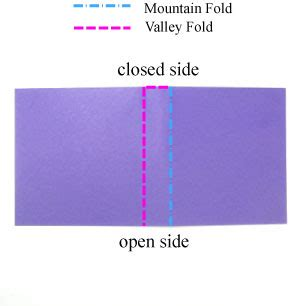 Crimp Fold Origami - how to apply a crimp fold in origami page 2