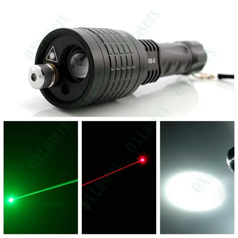 Senter Laser Pena Laser 3in1 Laser Led Light oxlasers new 3in1 led flashlight torch with green laser