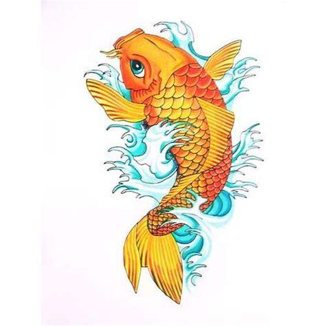 tattoo two koi fish orange koi fish tattoo design 2 tattoos book 65 000