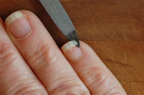 broken nail how to mend a broken fingernail the of doing