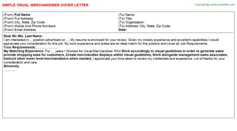 visual merchandiser cover letter templates franklinfire co