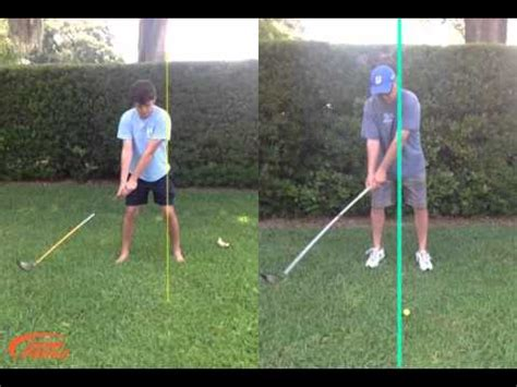 youtube golf swing analysis automatic golf swing analysis by swingprofile youtube