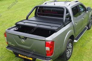 Tonneau Cover For Nissan Navara Np300 Nissan Navara Np300 Hawk Roll Bar Black Fits With