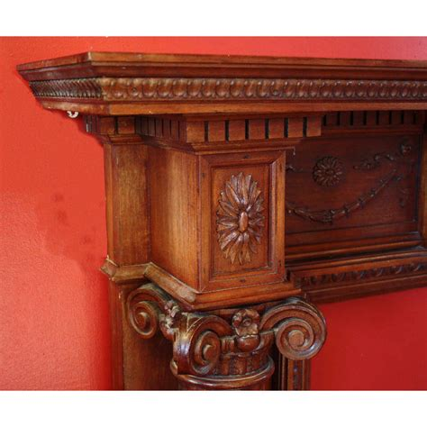 20th Century Fireplaces by 20th Century Mahogany Fireplace Andy Thornton