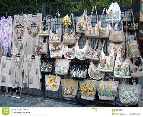 Selling Handmade Clothes - handbags and handmade clothes editorial image image
