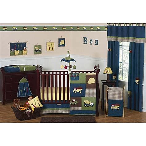 Construction Crib Bedding Set Sweet Jojo Designs Construction Zone Crib Bedding Collection Buybuybaby