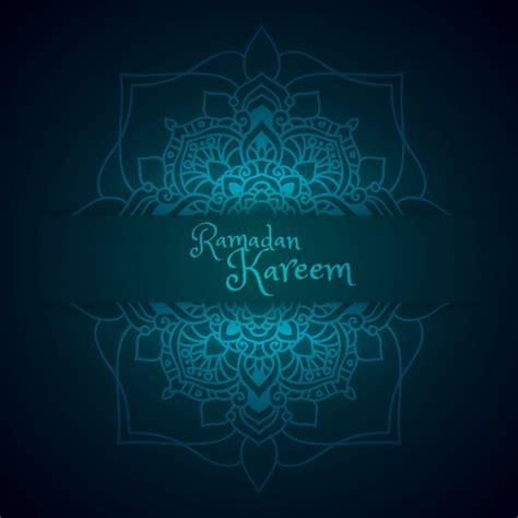 ramadan pattern vector ramadan greeting with mandala pattern vector free download