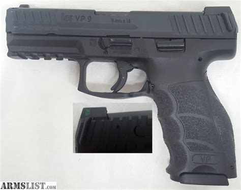 Fdle Background Check Gun Purchase Armslist For Sale H K Heckler Koch Vp9 Pistol 9mm