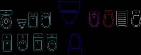 toilet blocks dwg block  autocad designs cad