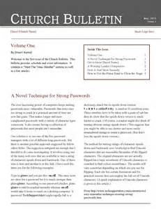 church newsletter templates free church bulletin templates cyberuse