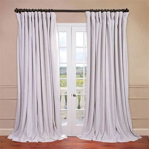 off white blackout curtains signature doublewide off white 100 x 108 inch blackout