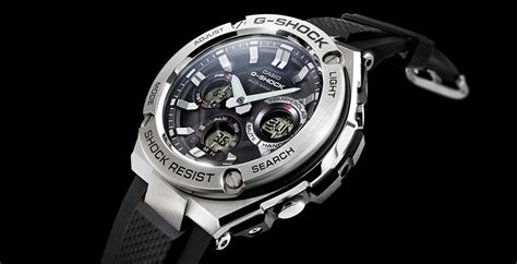 g shock gst w110 1aer x g steel g steel collection from g shock when style meets function