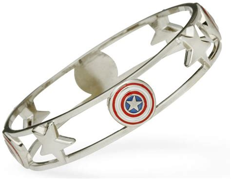 Captain America Bracelet captain america bangle bracelet