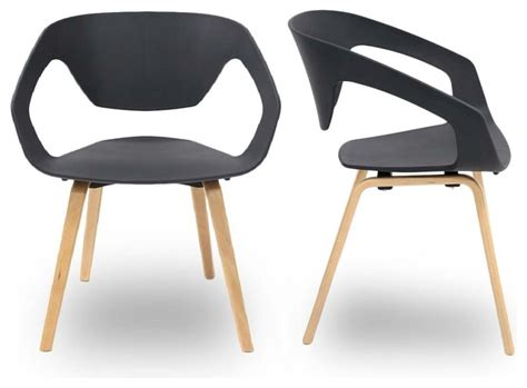 chaises grise charming salle a manger grise design 7 lot de 2 chaises