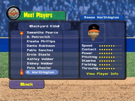 dante robinson backyard baseball backyard baseball 2009 game giant bomb
