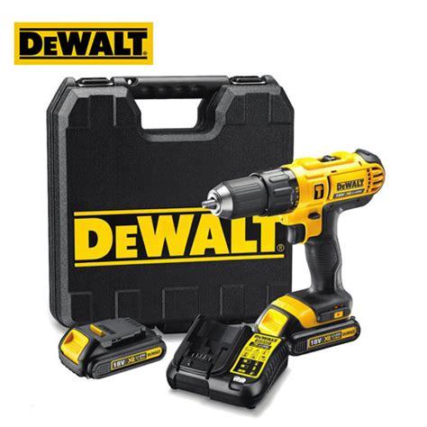 Dewalt Mesin Bor Dcd776c2 Hammer Drill Driver With Li Lon Battery dewalt 18v xr li ion compact hammer drill driver tools4wood