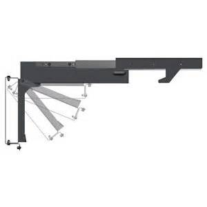 Amazon com mor ryde tv40010h slide out and flip down ceiling tv mount