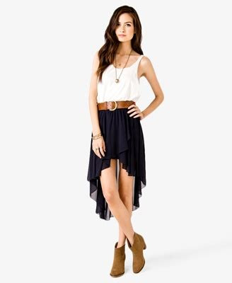 high low tulip skirt forever 21 2027536747 this