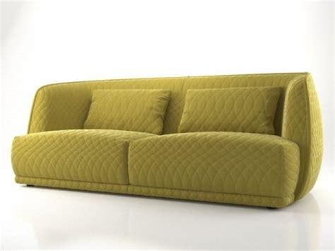 sofa redondo redondo sofa 215 3d model moroso