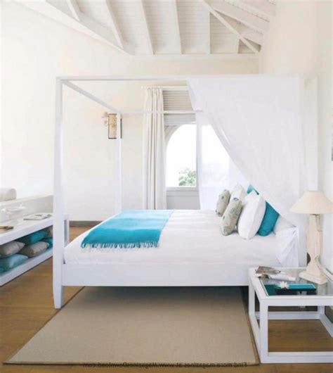 Beachy Master Bedroom Ideas by Beachy Themed Attic Master Bedroom Design With Sloping